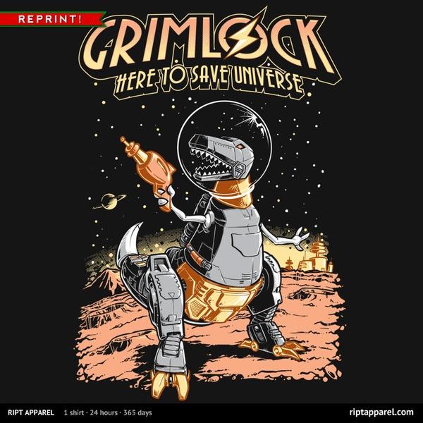Space Pulp Dino Hero REPRINT