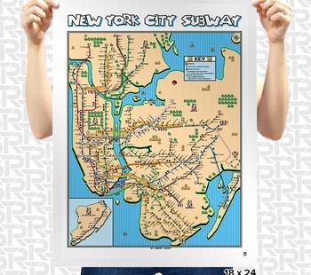 Super Mario 3 New York City Map