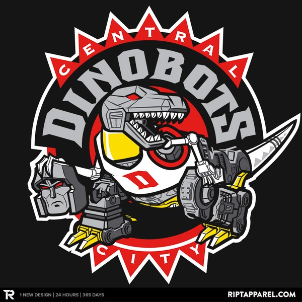 Central City Dinobots