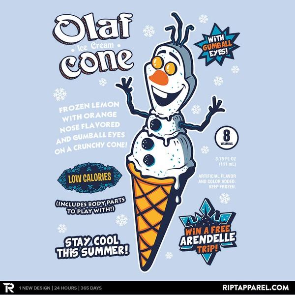 Snowman Cone