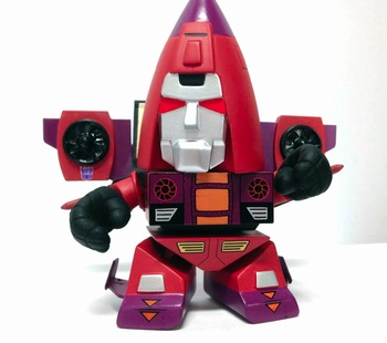 "Thrust 3"" Vinyl Figure Transformers G1 Series 02"