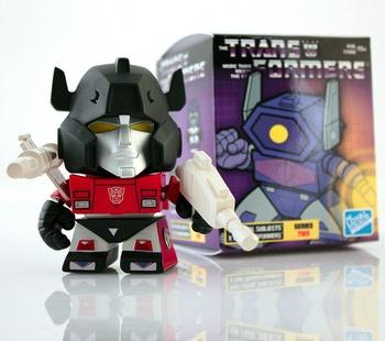 "Sideswipe 3"" Vinyl Figure Transformers G1 Series 02"