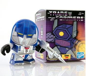 "Mirage 3"" Vinyl Figure Transformers G1 Series 02"