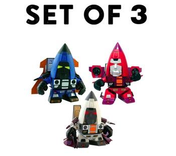 Decepticon Conehead Seeker 3-pack Transformers G1 Series 02
