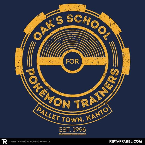 Oak's School for Pokemon Trainers