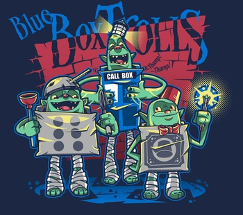 Blue Box Trolls Exclusive