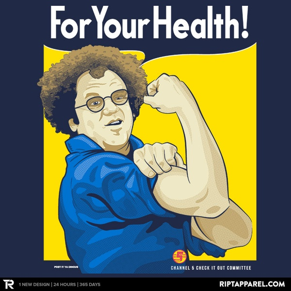 For Your Health!