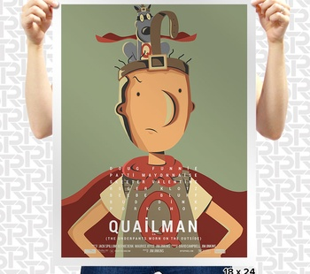 Quailman Poster