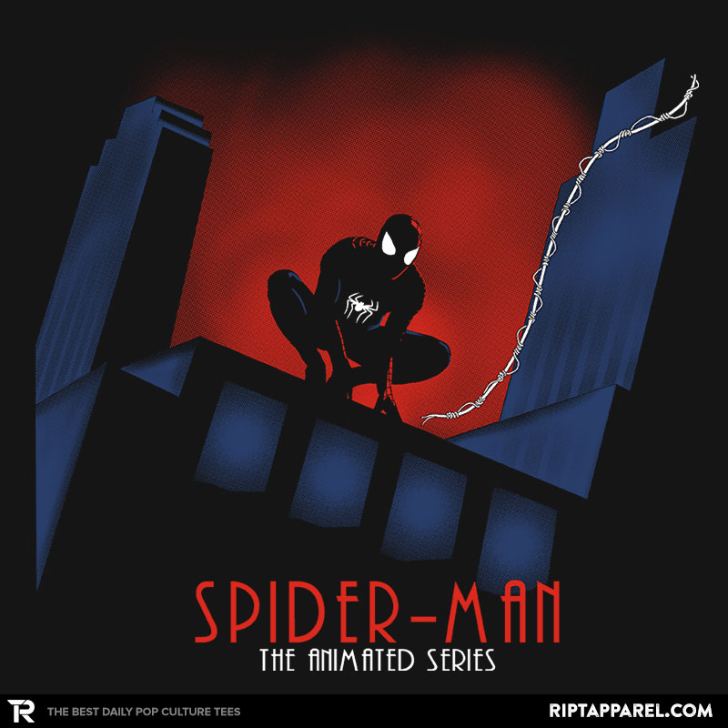 Detail View of T-Shirt - Spider: The Animated Series