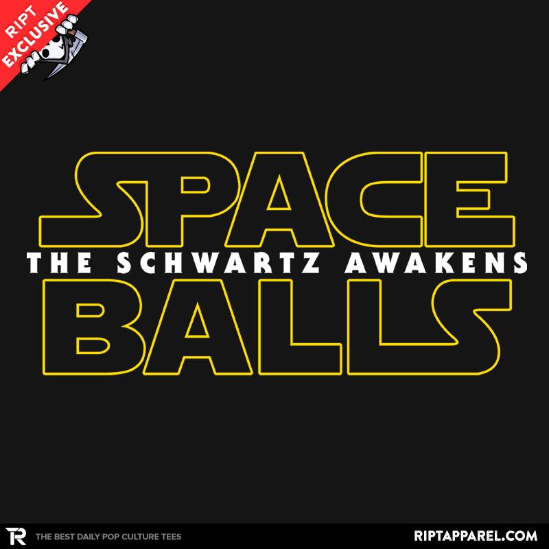 Detail View of T-Shirt - The Schwartz Awakens