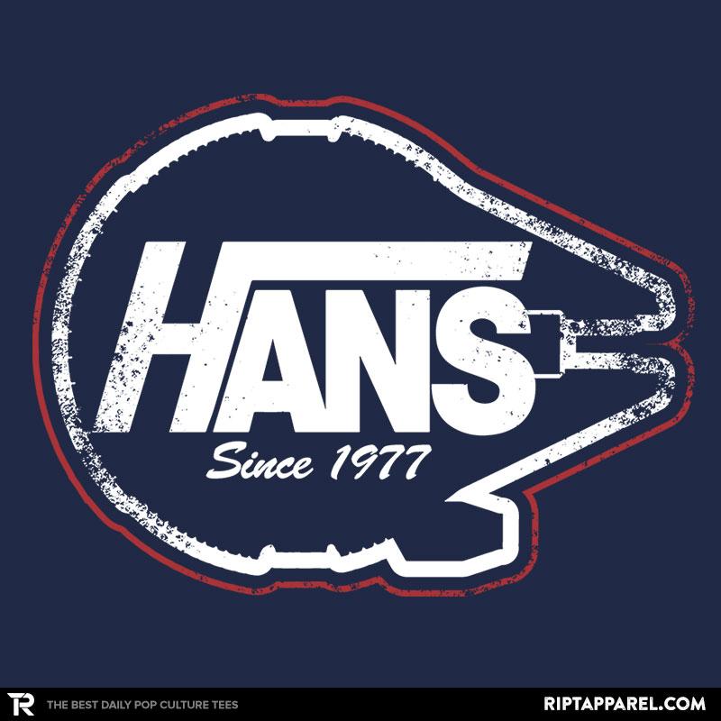 Detail View of T-Shirt - Hans Gear