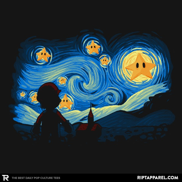 Super Starry Night