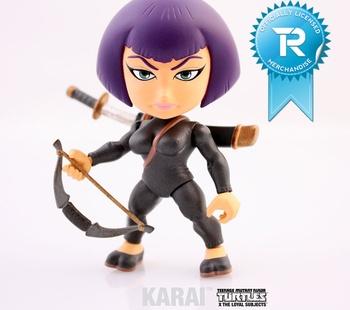 """Karai 3"""" Vinyl Figure TMNT Series 01 - Figure"""