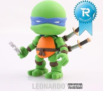 """Leonardo 3"""" Vinyl Figure TMNT Series 01 - Figure"""