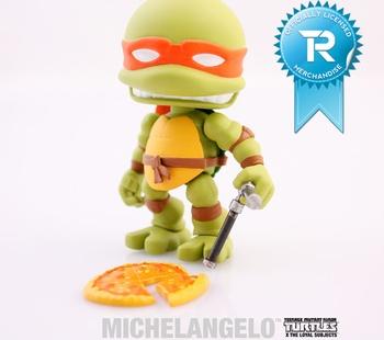 """Michelangelo 3"""" Vinyl Figure TMNT Series 01 - Figure"""