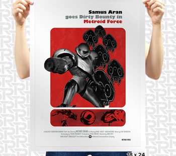 Metroid Force Poster