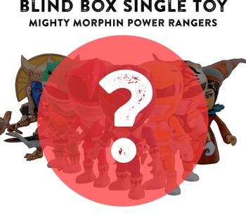 """BlindBox 3"""" Vinyl Figure MMPR Series 01 - Figure PREORDER"""