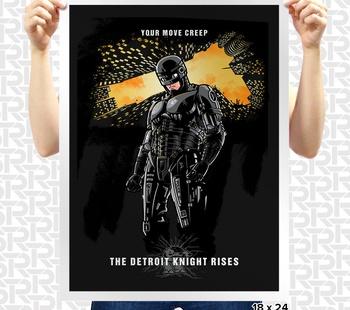 Detroit Knight Poster