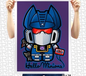 Hello Minions Poster