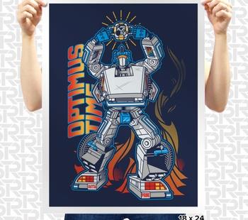 Optimus Time Poster
