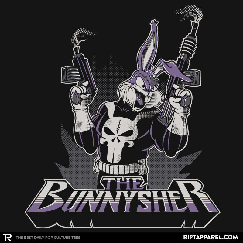 Detail View of T-Shirt - THE BUNNYSHER