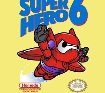 Super Hero 6 Exclusive