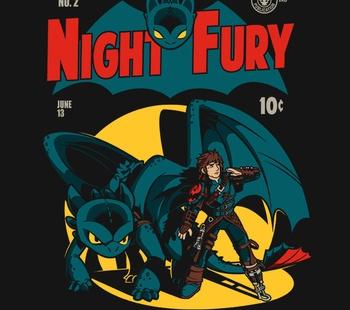 Dark Knight Fury Exclusive