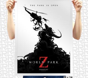 World Park Z Poster