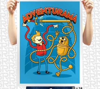 Adventurama Poster
