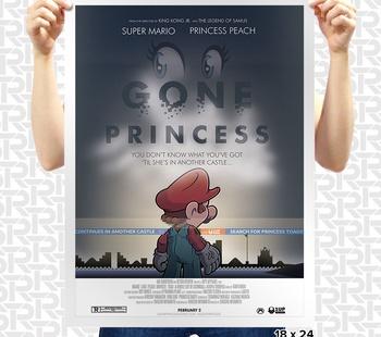 Gone Princess Poster