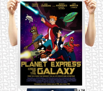 Planet Express: Crew of the Galaxy Poster