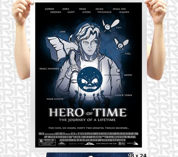Hero of Time Poster