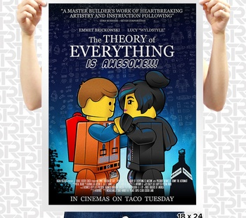 The Theory of Everything is AWESOME! Poster
