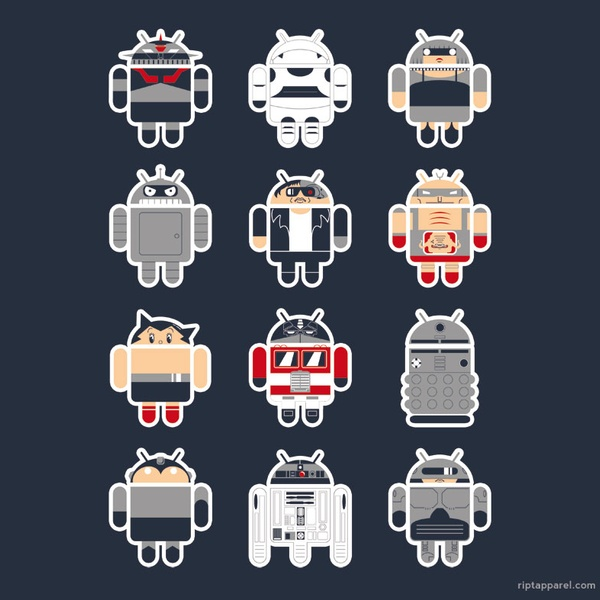 Famous Androids