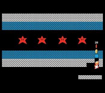 Chicago Mario Bricks Flag